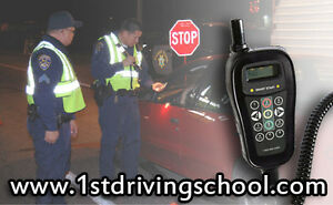 The only Legal Driving School Car with Breathalyzer for test