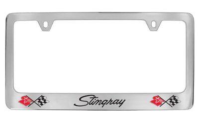 Chevrolet Corvette C3 Stingray Chrome Plated Metal License Plate Frame Holder for sale  Westminster