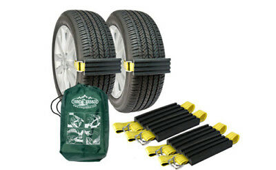"Trac-Grabber - The ""Get Unstuck"" Solution for Cars/Vans/ATV (4 Blocks & Straps)"
