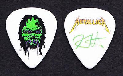 Metallica Kirk Hammett Zombie Guitar Pick 2008/2011 Death Magnetic Tour