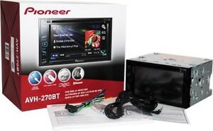 Pioneer Touch Screen Car Deck