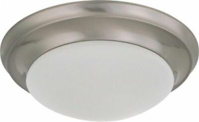 Nuvo 60-3314 - Twist & Lock Dome Small Flush Mount Ceiling Light