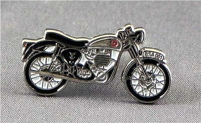 Metal Enamel Pin Badge Brooch BSA Bike Vintage Motorbike