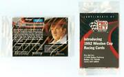 1992 Pro Set Racing Cards