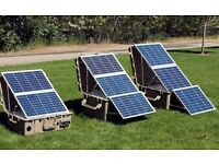 ANY LARGE FUNCTIONAL SOLAR PANEL URGENTLY NEEDED