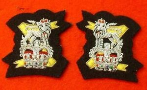 Light-Dragoons-Mess-Dress-Collar-Badges-Light-Dragoon-Mess-Kit-Badge