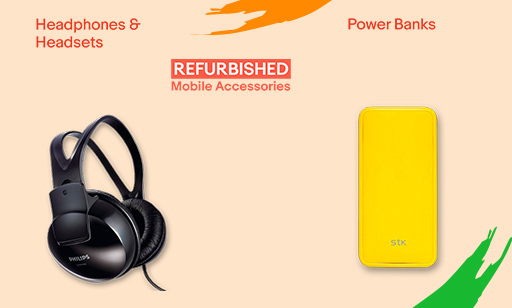 Refurbished Mobile Accessories