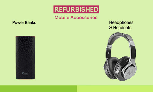 Unbelievable Prices on Refurb Accessories