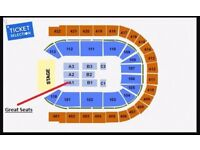 2X Micky Flanagan O2 Tickets 28th Sep. Block A1. Tickets In Hand.