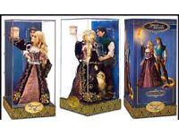 Wanted Disney Fairytale Designer dolls Rapunzel and Flynn - new or de-boxed
