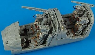 AIRES HOBBY 1/48 EA6B ICAP2 EARLY COCKPIT SET FOR RMX D 4395