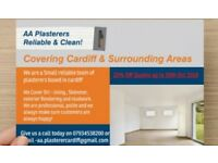 **AA Plasterers**Clean & reliable**