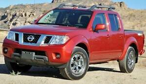 Nissan Frontier Pro 4x Crew cab with 6 speed manual.