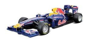 Burago 1/32 Sebastian Vettell Red  Bull RB7 2011 F1 Racing Car