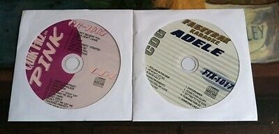 2 Cdg Set Karaoke Hits Of Adele And Pink   Rolling In The Deep   More   39 99