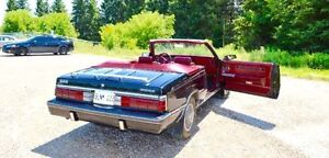 1984 DODGE 600 4 CYLINDERS CONVERTIBLE VERY CHEAP IN GAS