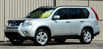 2012 Nissan X-Trail T31 MY11 ST (4x4) Silver 6 Speed Manual Wagon Lismore Lismore Area Preview