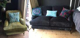 Sofa Workshop Miss Clementine 2 Seater Sofa & Chair Set