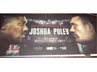 2x Anthony Joshua vs Carlos Takam tickets (pulev)