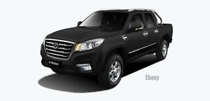 2017 Great Wall Steed LUXURY 4X4 Black DAUL CAB PICK UP Tuggerah Wyong Area Preview