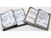 SATA hard drive, 2.5for laptop