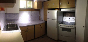 Two bedroom basement siute Utility's are included