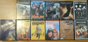 Assorted DVDs, Assorted Prices