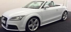 Grey AUDI TTS ROADSTER CONVERTIBLE 2.0 TFS1 Petrol QUATTRO S-T FROM £64 PER WEEK