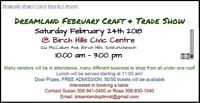 2018 FEBRUARY TRADE & CRAFT SALE-NOW BOOKING VENDORS
