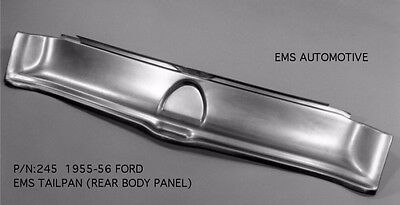 Ford Car Tailpan Tail Roll Pan 1955-1956 #245 EMS