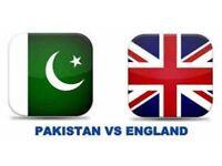 England vs Pakistan IT20 ticket for sale*****