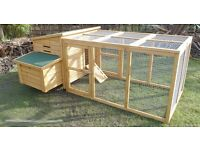 New Chicken Coop With Run| Hen House With Run| Chicken House with Run