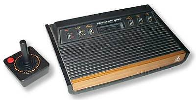 Heavy Six-switch atari. Note the rounded front corners and thick side bezels.