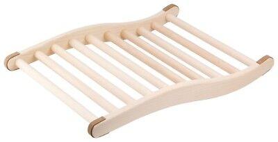 Rückenlehne ergonomische S-Form, Sauna & Infrarotkabine Saunazubehör Holz