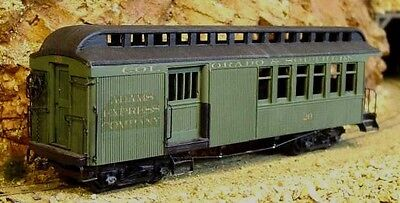 On3/On30 WISEMAN SM-110 COLORADO & SOUTHERN COMBINE #20 PASSENGER CAR KIT