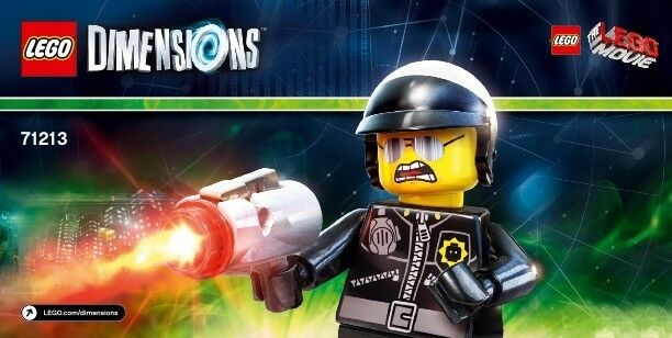 LEGO Dimensions 71213 Lego Movie Fun Pack - Bad Cop - AUS stock Brand new