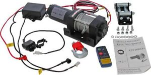 NEW Winch -MNPS 3000lb, 12 Volt, Wireless Remote & Cabled Switch