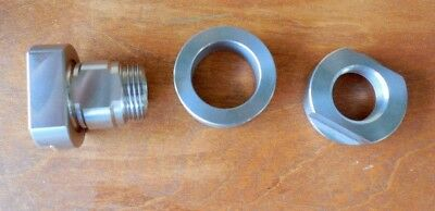 Hobart Buffalo Chopper Knife Retaining Bushing Collar Nut Ref.7131171312313