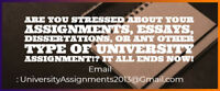 Assignment Professionals - Phd/Master Writers
