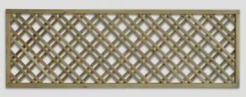 Chequered Garden Fence Panel Trellis 6ft x 1ft Only £17.00 Each Call 0161 962 9127 Ope 7 Days