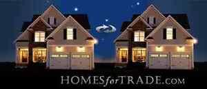 Trade Your Property At HomesforTrade.com !