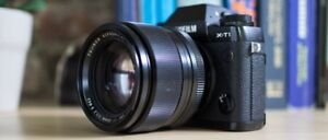 FUJI XF 56mm f1.2 lens w/ HENRYS EXTENDED WARRANTY and filter