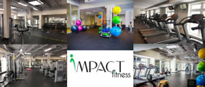 Gym Memberships at IMPACT FITNESS as low as 35/month!