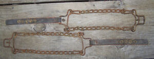 VINTAGE TIRE CHAINS  $20.00