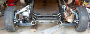 1973 to 1987 Chevy GMC Half ton front cross member rebuilt