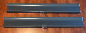 """**TWO DARK GREY IKEA CELLULAR BLINDS FOR SALE- 23""""X64""""**"""