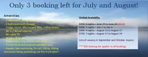 Large 2+ Bedroom Cottage On Private Lot @ Lochaber Lake