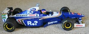 auto de collection F1 Williams Fw19 1997 Jacques Villeneuve