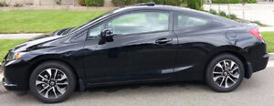 2013 Honda CIVIC EX Coupe -low mileage with warranty