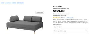 Like new flottebo sofa-bed by IKEA